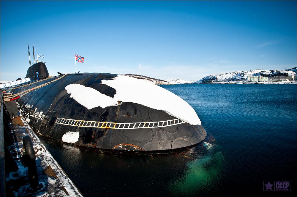 Про Краснознамённые подводные силы Северного флота
